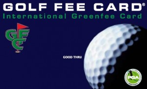Golfcard-Abbildung